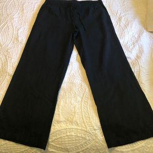Old Navy wide leg linen pant L